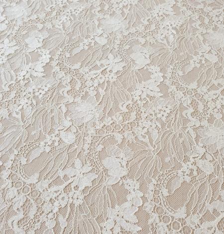 Ecru guipure lace fabric. Photo 3
