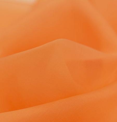 Orange silk organza fabric. Photo 4