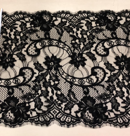 Black Solstiss lace trim. Photo 6