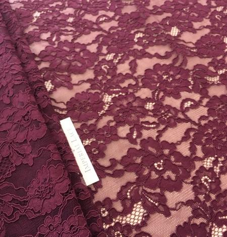 Lilac lase fabric. Photo 4