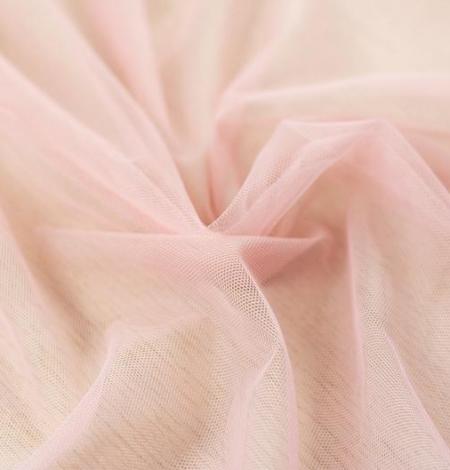 Old rose pinkish soft tulle fabric. Photo 6