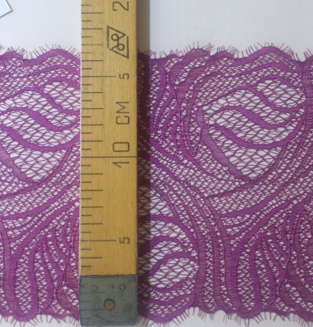 Dark Purple Lace Trim. Photo 5