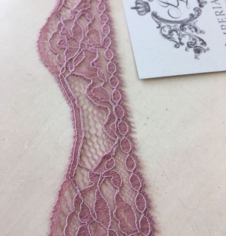 Old rose elastic lace. Photo 1