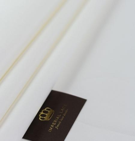 Snowwhite Cadi silk with cotton and elastane. Photo 6