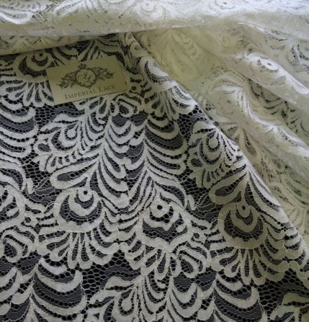 Off-white Lace Fabric. Photo 3