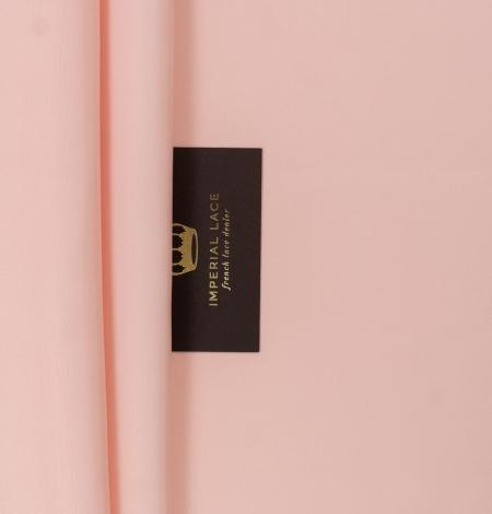 Peach color thick silk fabric. Photo 10
