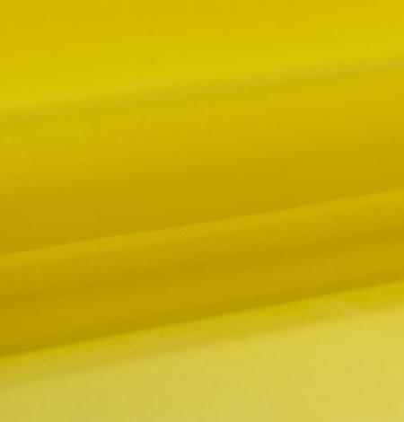 Yellow with green shade silk organza fabric. Photo 5