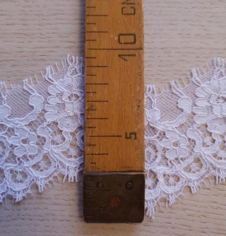 White guipure lace trim . Photo 6