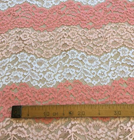 Multicolor lace fabric. Photo 10