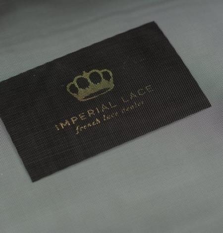 Black crinoline fabric . Photo 2