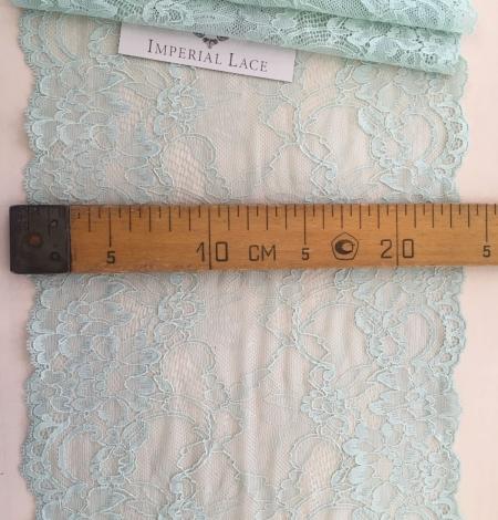 Mint elastic lace trimming. Photo 5