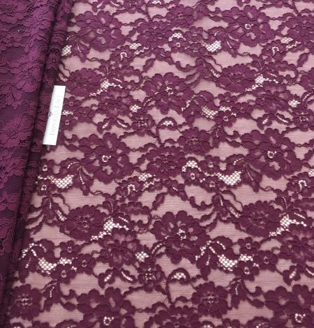 Lilac lase fabric. Photo 1