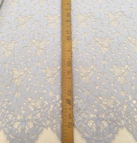 Gray lace fabric. Photo 6