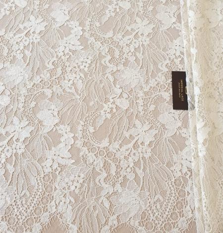 Ecru guipure lace fabric. Photo 7