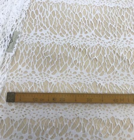 White lace fabric. Photo 8