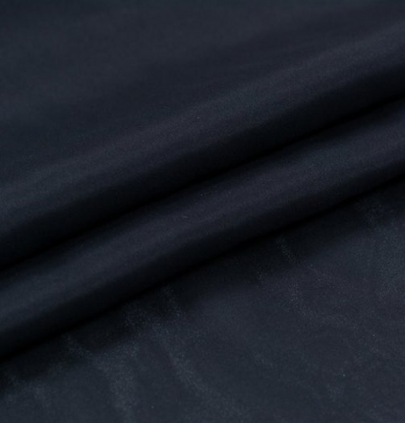 Black silk lining fabric . Photo 7