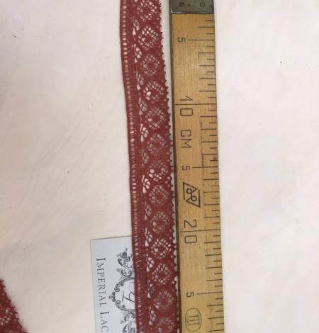 Brown Lace Trim. Photo 5