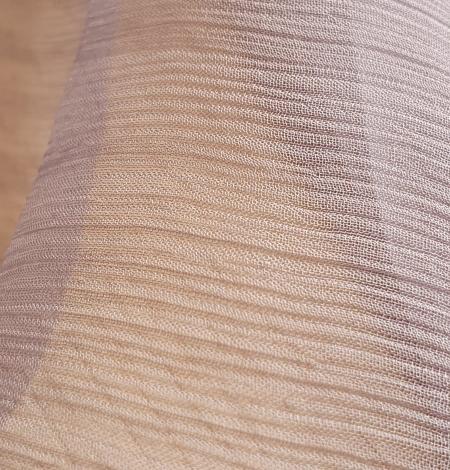 Lilac grey silk chiffon fabric. Photo 2