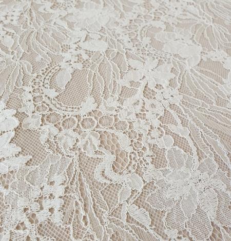 Ecru guipure lace fabric. Photo 5