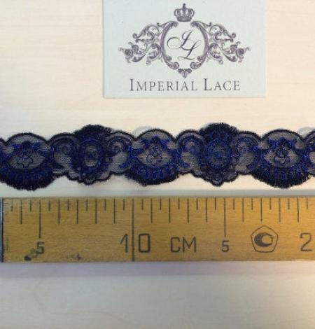Blue Lace Trim. Photo 3