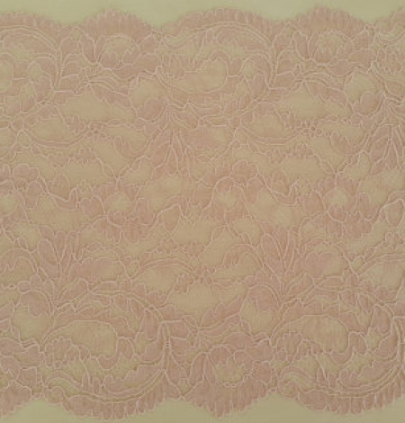 Pink elastic lace trim. Photo 3