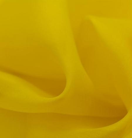 Yellow with green shade silk organza fabric. Photo 2