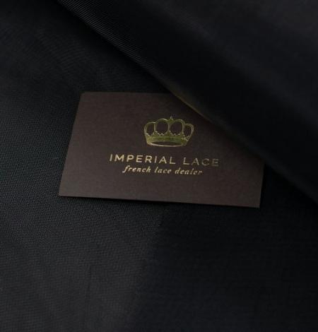 Black crinoline fabric . Photo 6