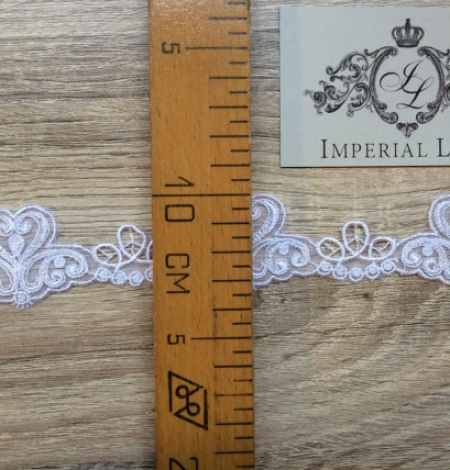 White lace trim. Photo 3
