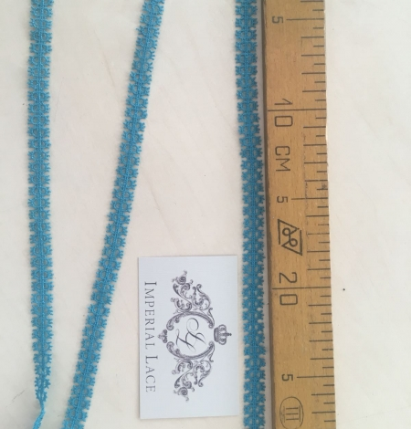 Turquoise lace trimming. Photo 8
