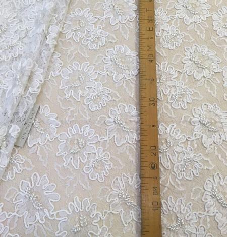 White Lace fabric. Photo 5