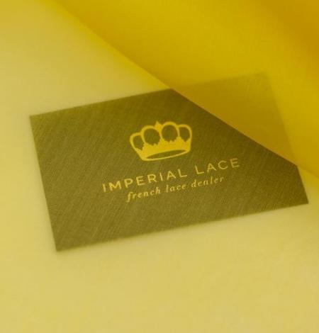 Yellow with green shade silk organza fabric. Photo 6