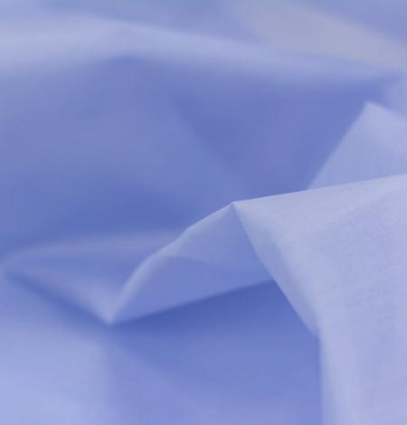 Blue with grey shade silk organza fabric . Photo 3