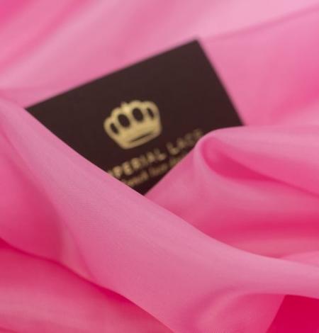Pink vicose cupro lining fabric . Photo 2