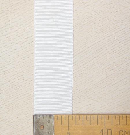Ivory grosgrain ribbon . Photo 4