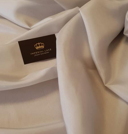 Greyish beige 100% silk lining fabric . Photo 1