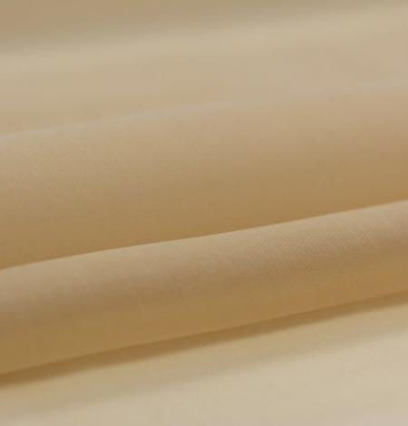 Light brown silk organza fabric. Photo 2
