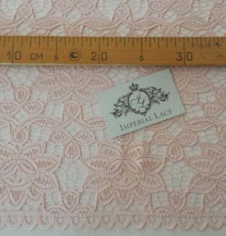 Pink lace fabric. Photo 5