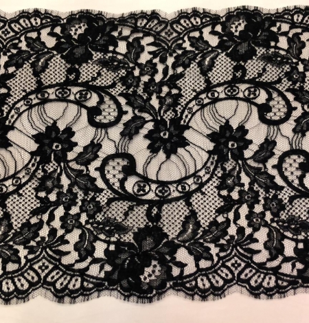 Black Solstiss lace trim. Photo 3
