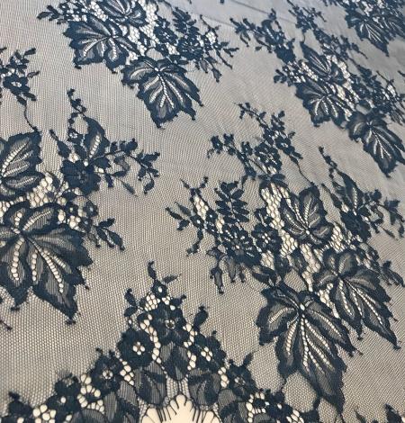 Dark green lace fabric. Photo 9