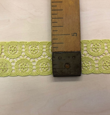 Green lace trimming. Photo 7