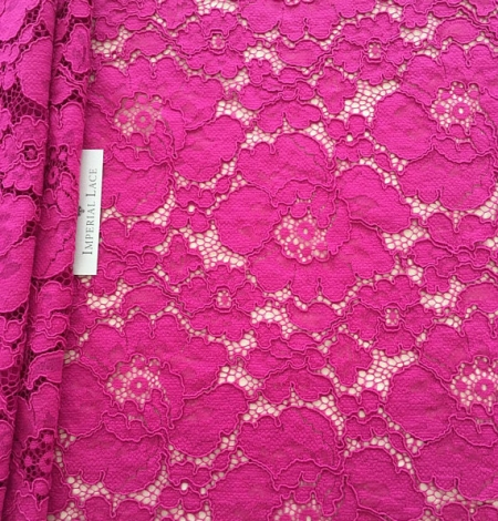 Fuchsia pink lace. Photo 1