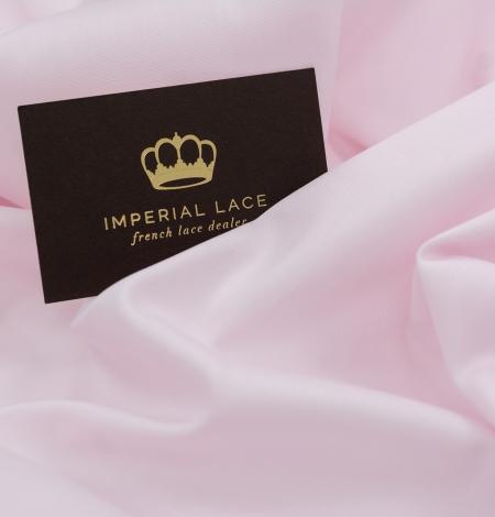 Light pink cotton fabric. Photo 4