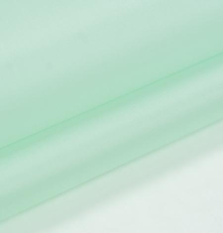 Lettuce green silk organza fabric. Photo 6