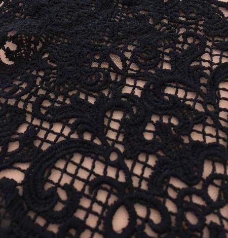 Black guipure lace trim. Photo 2