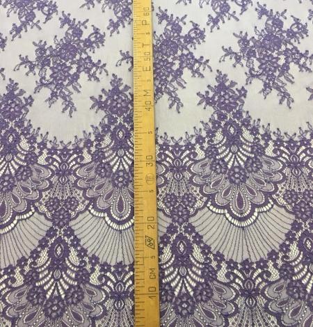 Lilac lace fabric. Photo 8