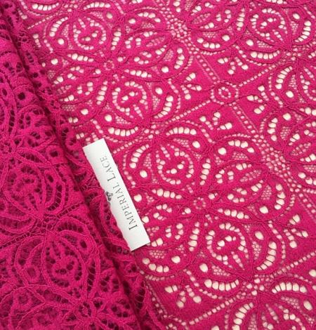 Fuchsia pink lace. Photo 4