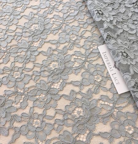 Pistachio lace fabric. Photo 1