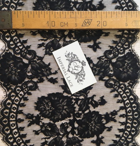 Black lace trimming from France. Photo 8