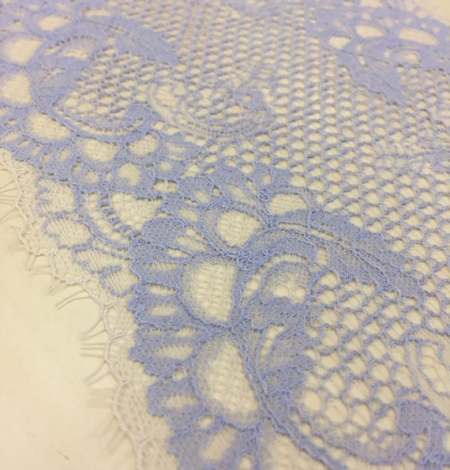 Blue Lace Trim. Photo 3