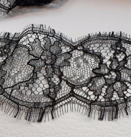 Solstiss black Lace trim. Photo 1